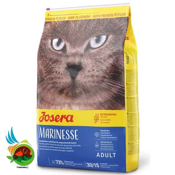غذای گربه جوسرا مارینس