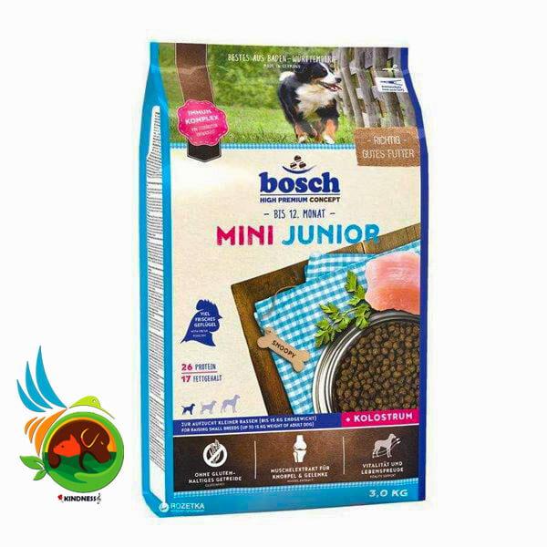 غذای خشک سگ بوش Mini Junior
