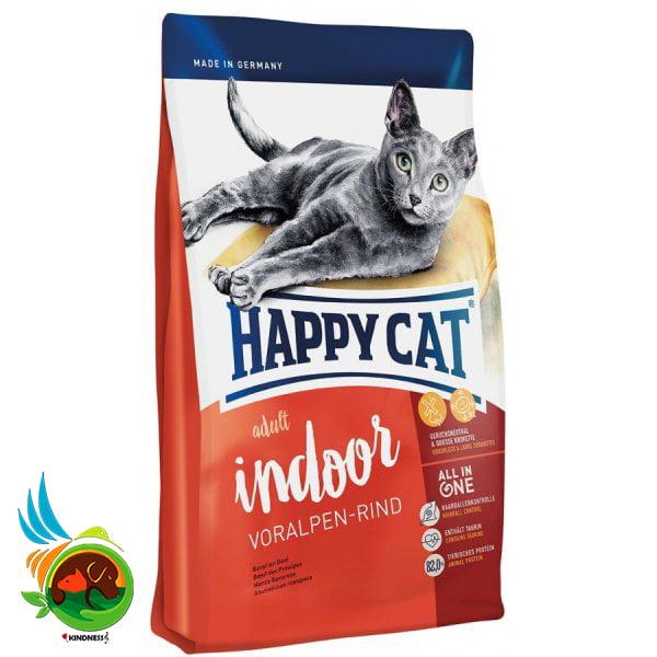 غذای گربه هپی کت ایندور