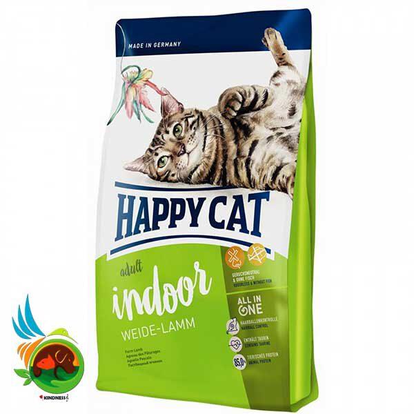 غذای گربه خانگی هپی کت با طعم گوشت بره