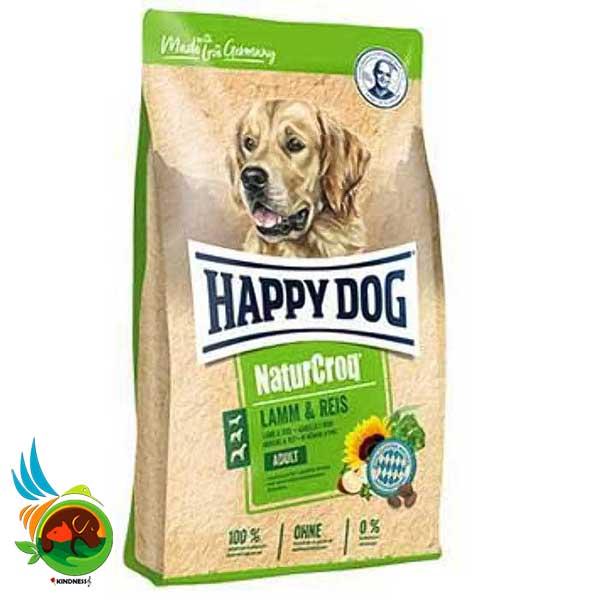 غذای سگ بالغ Nature Croq هپی داگ با طعم بره و برنج
