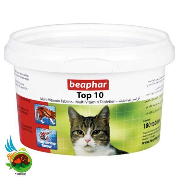 مولتی ویتامین گربه بیفار تاپ تن