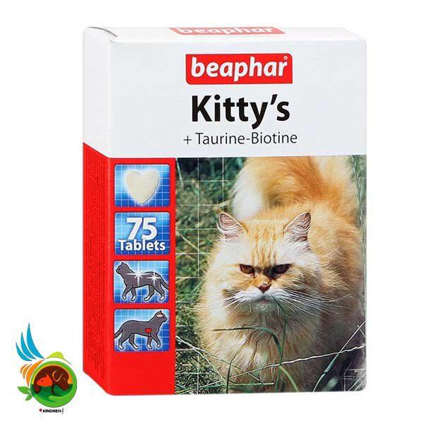 قرص مکمل تاپ تن Kitty's