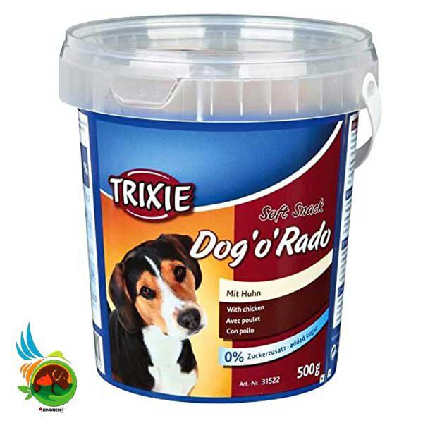 """تشویقی سگ سطلی تریکسی Dog """"o"""" Rado وزن 500 گرم"""