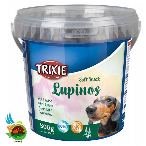 تشویقی سگ سطلی تریکسی Lupinos