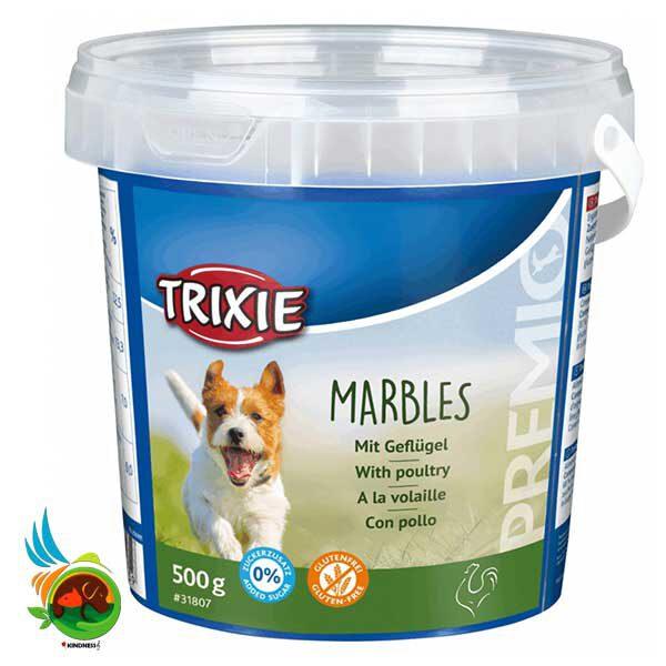 تشویقی سگ سطلی تریکسی Marbles