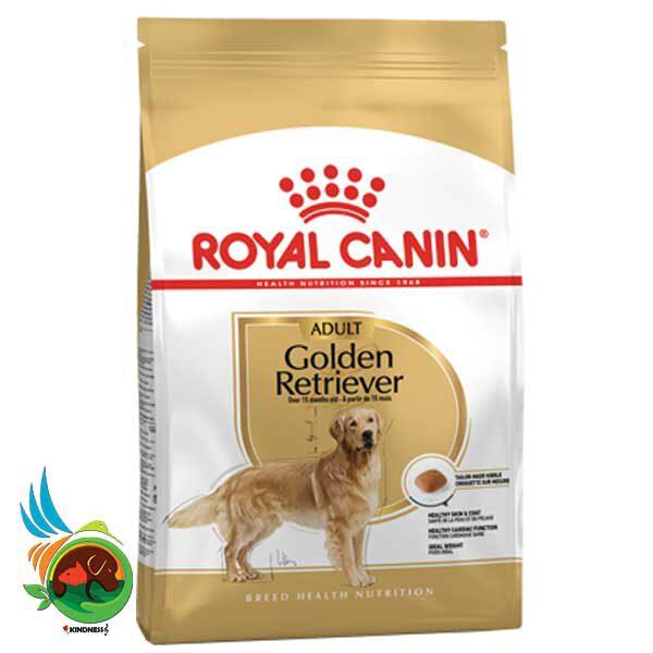 غذای خشک سگ بالغ نژاد گلدن رتریور رویال کنین Golden Retriever وزن 12 کیلوگرم