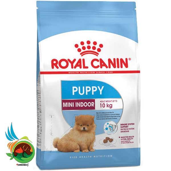 غذای خشک رویال کنین توله سگ mini indoor puppy 1.5 کیلوگرم