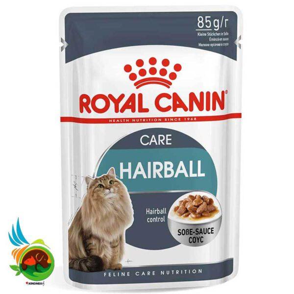 پوچ گربه رویال کنین مدل هربال(Hairball)