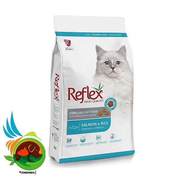 غذای خشک گربه عقیم مدل Reflex Sterilised Cat Fish وزن 15 کیلوگرم