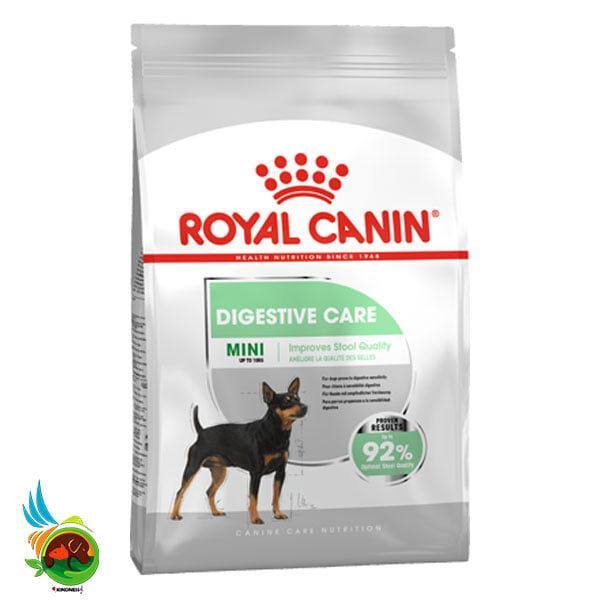 غذای خشک گوارشی سگ نژاد کوچک مدل Mini Digestive Care وزن 3 کیلوگرم
